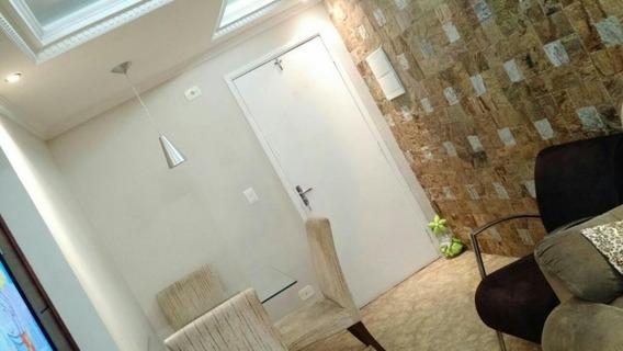 Apartamento Com 2 Dormitórios À Venda, 56 M² Por R$ 280.000 - Jardim América - Taboão Da Serra/sp - Ap0552