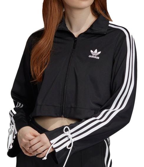 Campera adidas Originals Moda Track Top Mujer Ng/bl