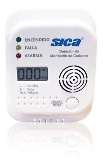 Detector De Monoxido De Carbono Sica A Pilas Con Display