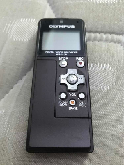 Gravador Portátil Olympus , Modelo Ws-210s