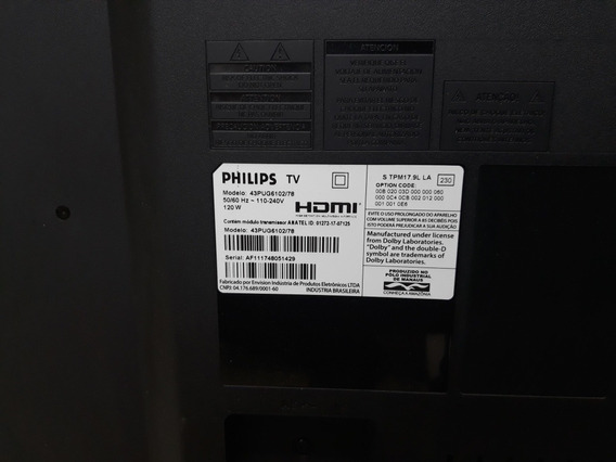 Vendo Tv Philips 43 43pug6102/78