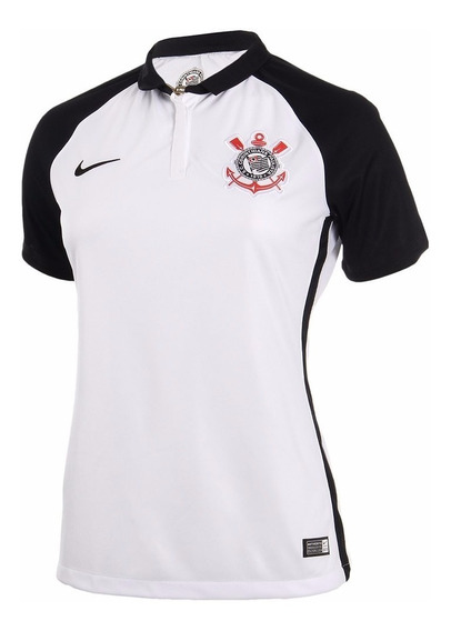 Camisa Nike Corinthians I 2015/2016 Feminina