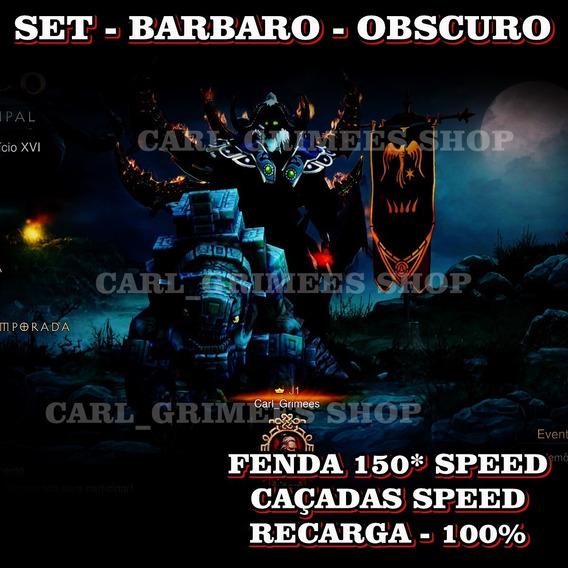 Diablo 3 - Ps4 - Kit Barbaro - Speed Perfeita - Recarga 100%