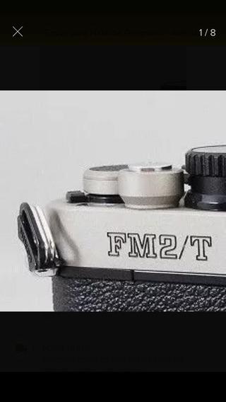 Edição Limitada Nikon Fm2/t