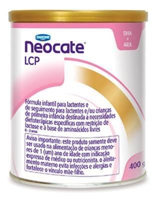 Leite Neocate Lcp Original 400g 4 Unidades