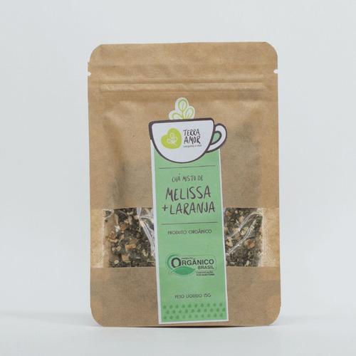 Chá Misto Melissa E Laranja Orgânico 15g (01 Unidade)