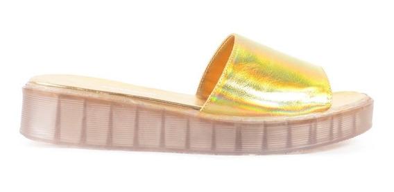 Zuecos De Cuero Vacuno De Mujer Taco Bajo Krabi - Ferraro