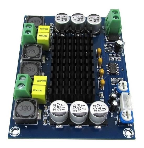 Placa Amplificadora De Potência De Áudio Estéreo Digital