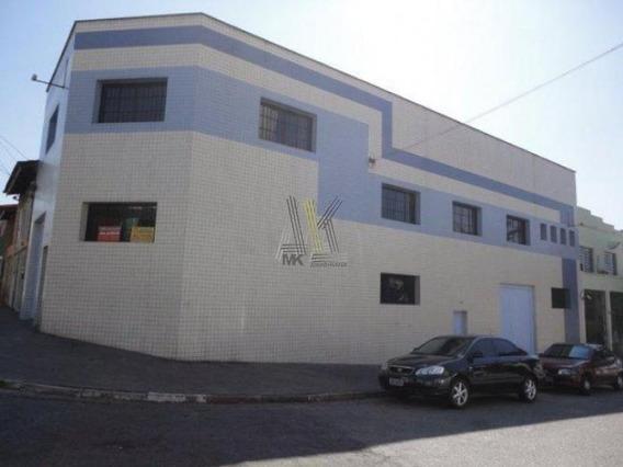 Galpão Com 03 Pavimentos Na Mooca Entrada Para 2 Ruas 380m2 Facil Acesso A Marginal E Salim Maluf - 645
