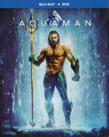 Aquaman Dc Comics Jason Momoa Pelicula Blu-ray + Dvd