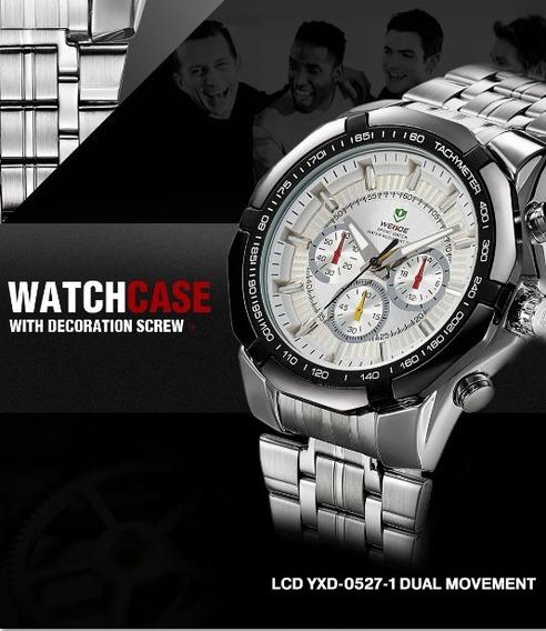 Relógio De Pulso Weide Wh-1010 Original - Frete Grátis