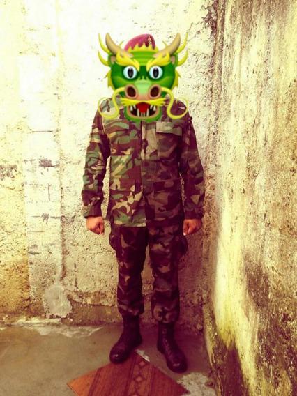 Uniforme Camuflajeado Militar Comando Fuerzas Especiales 15d