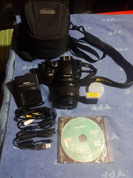 Vendo O Permuto Nikon D5100 Con Lente Yongnuo 50mm