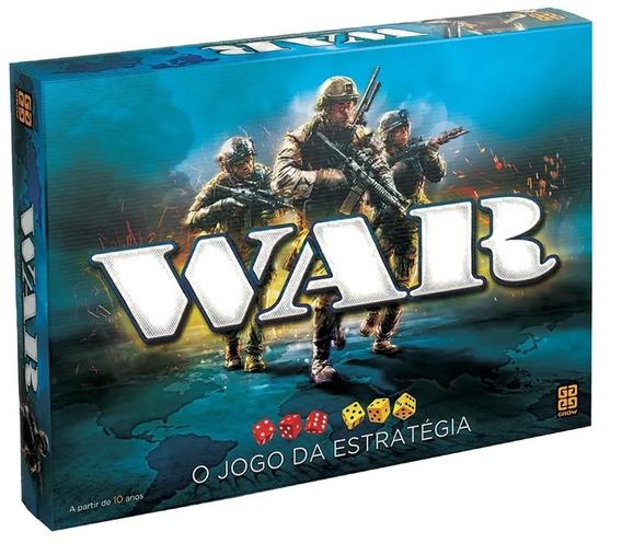 Jogo De Tabuleiro Grow War Jogo Da Estrategia Original