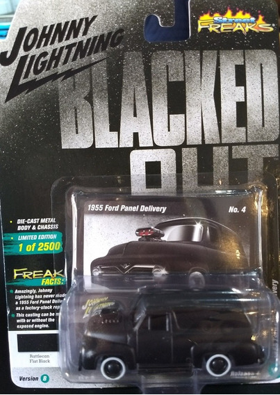 Auto Van Lightning 1955 Ford Panel Deliver Black Opaca Rdf1
