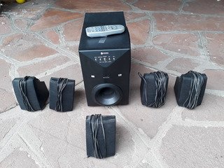Home Theat. 6 Parl/woofer S.carlson C.remoto Impecable,