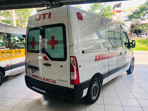 Renault Master 0km Ambulância Uti Pack