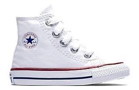 Tênis All Star Infantil Original Cano Alto Branco - Converse