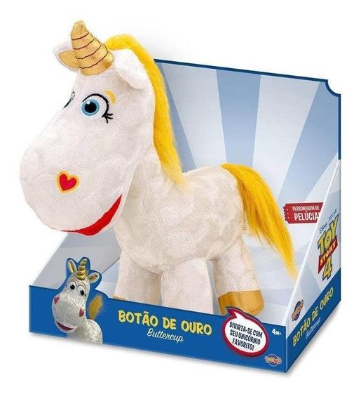 Toy Story 4 Pelucia Unicornio Botao De Ouro Disney Toyng