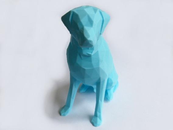 Busto / Estátua Labrador (impressão 3d)
