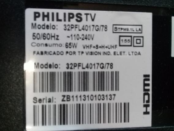 Tecado + Sensor Remoto Tv Philips 32pfl4017g - M715g5251