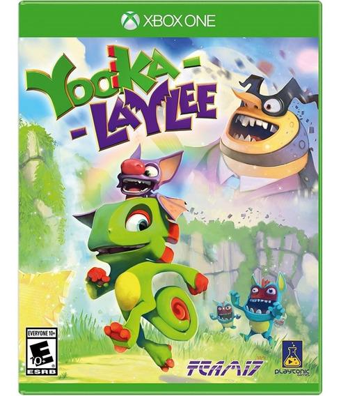 Yooka-laylee Xbox One Mídia Física Novo Original Lacrado