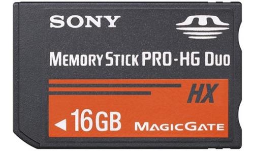 Memory Stick Pro Duo 16gb Mark2 Sony Alta Velocidad