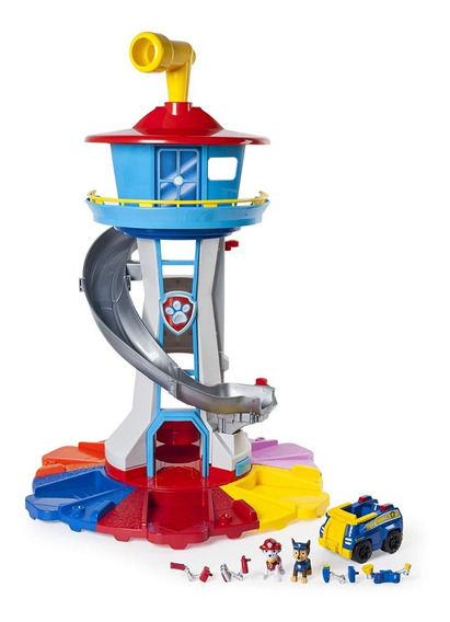 Paw Patrol Torre De Control Gigante Juguete Original