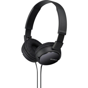 Headphone Fone De Ouvido Dobrável Isolamento Mdr-zx110 Sony
