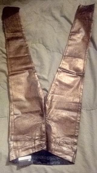Pantalón Dama Talla 3 Metalizado