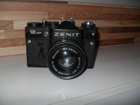 Maquina Fotográfica Zenit Bem Conservada, P/colecionadores