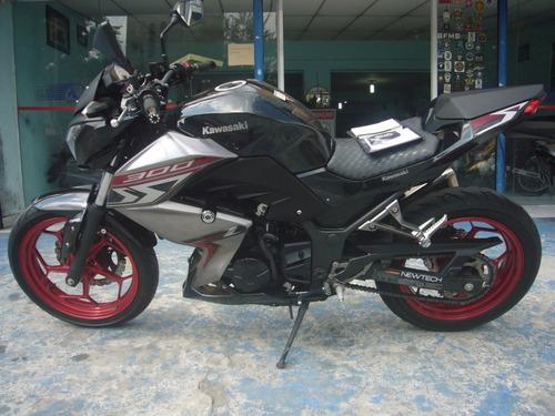 Kawasaki Z 300 Abs Preta Ano 2019 Nova Troca Financia Bx Km