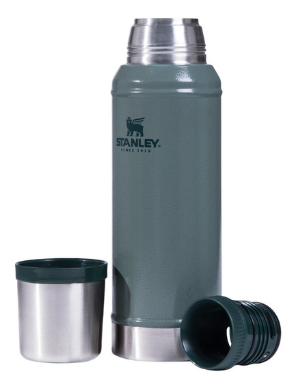 Termo Clásico 750 Ml Stanley Colores Acero Inoxidable Mm