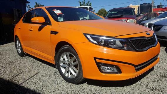 Kia K5 2014 Naranja