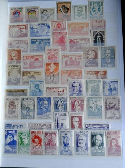 Brasil Colección De Sellos Conmemorativos Nuevos 1945 A 1993