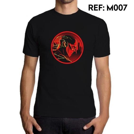 Camiseta Masculina The Flash Dc Comics Séries Outfit