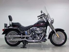 Harley-davidson Softail Fat Boy 2007 Preta