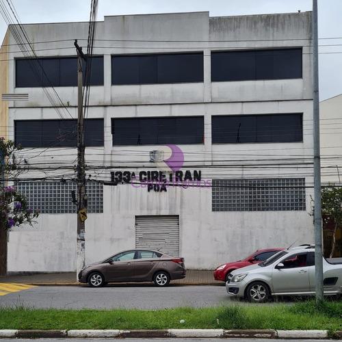 Imagem 1 de 1 de Prédio Comercial Para Locação, Com Excelente Localização - Centro - Poá/sp. - Pr00014 - 69547448