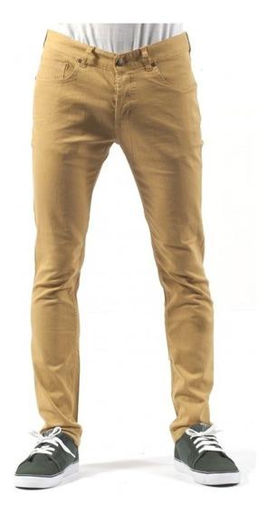 Pantalon Jean Circa Mostaza Denim Con Spandex Slim Fit