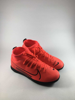 Chuteira Futsal Nike Superfly Infantil Botinha /tênis Nike