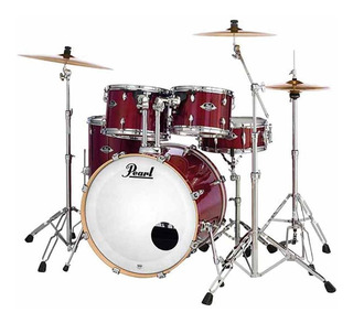 Bateria Export Exl Color Natural Red Cherry