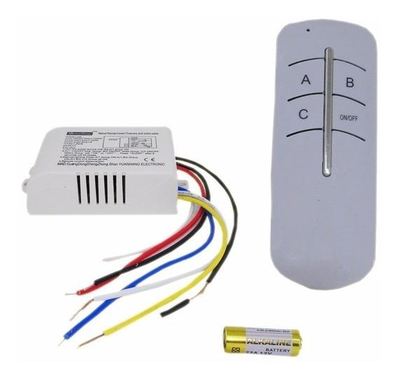 Interruptor Sem Fio Automação Residencial Ctrl Remoto 1c