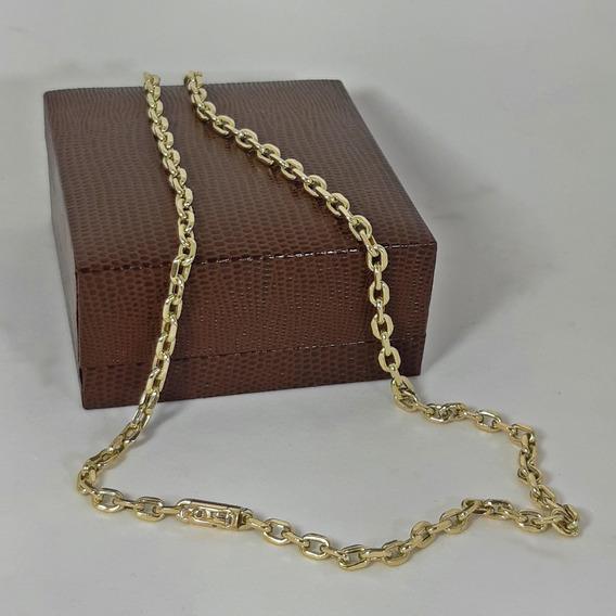 Corrente Cordão Cadeado 15gr 4mm 70cm Ouro18k Pronta Entrega