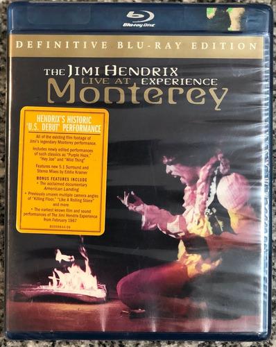 Imagen 1 de 2 de The Jimi Hendrix Experience Live At Monterey Blu-ray