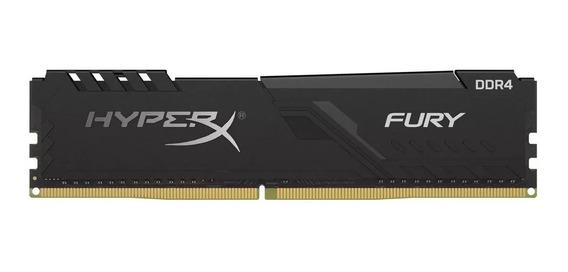 Memória Kingston Hyperx Fury 8gb 2666mhz Ddr4 Hx426c16fb3/8