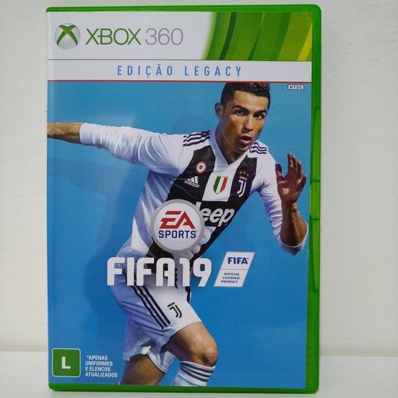 Jogo Xbox 360 Fifa 19 Mídia Física Original