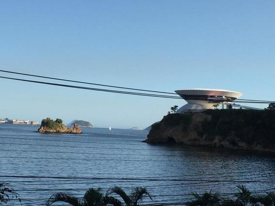 Vistão Para A Praia Das Flexas Com 3 Quartos / 1 Suíte E 1 Vaga. - Ap1276