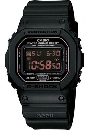 Relógio Casio Preto Masculino Dw-5600ms-1dr
