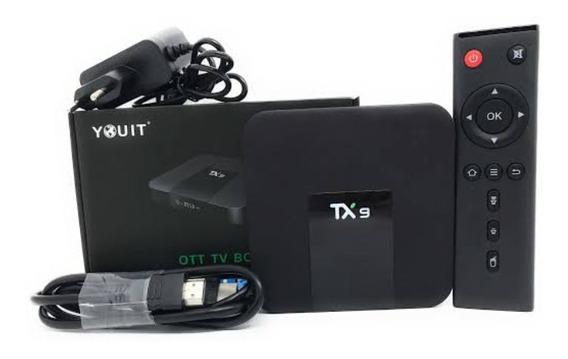 Conversor Smart Tv Tx9 + Mini Teclado Com Led