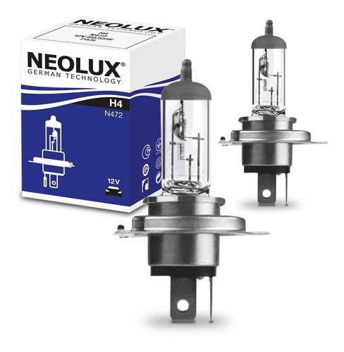Lâmpada H4 Neolux N472 Standard 60/55w Fiorino Palio Par
